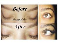 Semi-Permanent Eyelash Extension