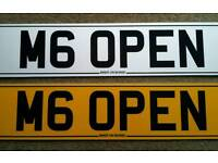 BMW M6 CONVERTIBLE PRIVATE PLATE OR MGF MG TF