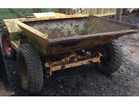 Thwaites Diesel Dumper Truck, Farm, Stables, Horses, Yard, Builders.