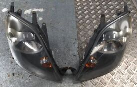 Ford Fiesta MK7 Front Headlights Pair Headlamps