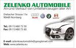 Zelenko Unfallauto und Teile