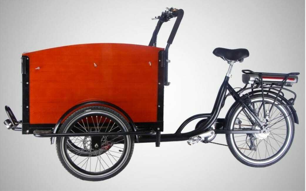 Lastenfahrrad, Lastenrad, Transportfahrrad, Cargo Bike, (kein Elektro)