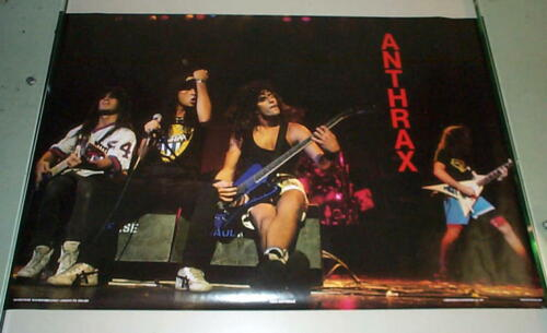 ANTHRAX  Vintage 80s Stage Poster