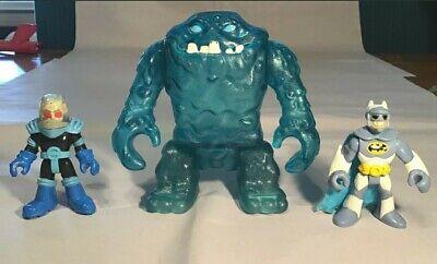 Imaginext DC Super Friend Mr Freeze Batman Figure Blue Ice Clay Face Clayface
