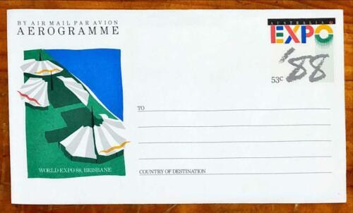 1988 Aerogramme World Expo 88 Brisbane