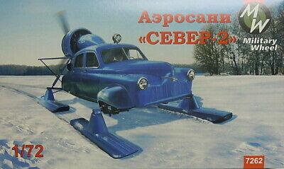 "Soviet Aerosan ""North-2"" , 1:72, MW, Plastikmodellbausatz , *NEU*"