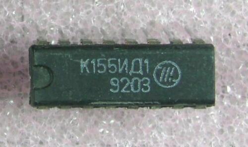 K155ID1 ( = SN 74141) IC Driver for Nixie tubes