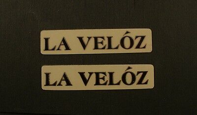 KABUKI La Veloz vintage bicycle bike frame Stickers New, used for sale  USA