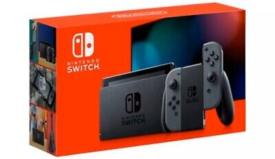 Nintendo Switch Console with Gray Joy-Cons 32GB HAC-001(-01) V2 New Version!
