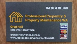 Professional Carpentry & Property Maintenance WA Merriwa Wanneroo Area Preview