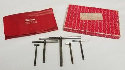 L.s. Starrett No.s229gz Telescoping Snap Bore Gages Set W Case 12 - 6 Id