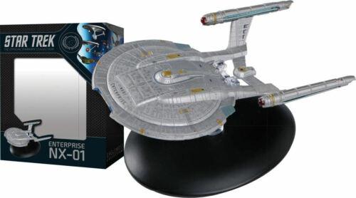Star Trek Enterprise NX-01 Ship w/ Magazine Best of Eaglemoss Official Starships