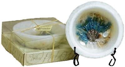 Habersham candle White Sand and Sea Salt Wax Pottery Vessel ()