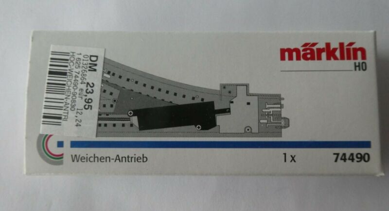 MARKLIN H0 74490 ELECTRIC TURNOUT MECHANISM NEW IN ORIGINAL BOX