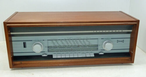 Telefunken Tube Stereo Receiver Concertino 2380 nice working device from 1963