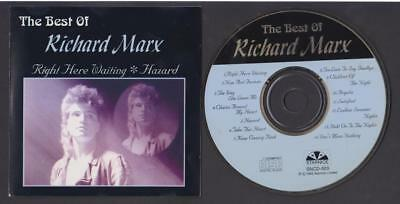 The Best Of Richard Marx On Cover Singapore CD