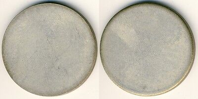 20 Mark Brand.Tor Silber -unbeprägter Rohling ohne Randschrift Fehlprägung, vz