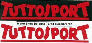 ADESIVO-STICKER-TUTTOSPORT-MOTOR-SHOW-BOLOGNA-5-13-dicembre-1987