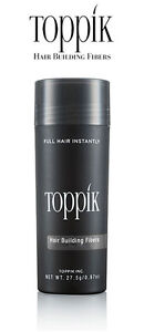 Toppik Hair Building Thickening Fibers Medium Brown Economy 0.97oz  27.5g Loss
