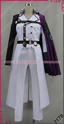 Seraph of the End Vampire Reign Crowley Eusford Halloween Set Cosplay Costume S0 - Reign Halloween Costumes