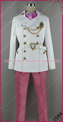 Blue Exorcist Mephisto Pheles Uniform Suit Cosplay Costume S002