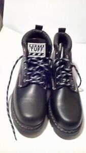 MEN'S NEW ROOTS TUFF BOOT GAUCHO BLACK AND BROWN