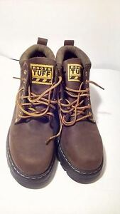 MEN'S NEW ROOTS TUFF BOOT GAUCHO BROWN AND BLACK