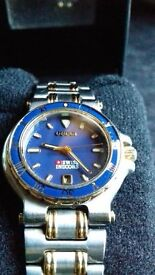 Ladies Gold Plated Gucci Watch