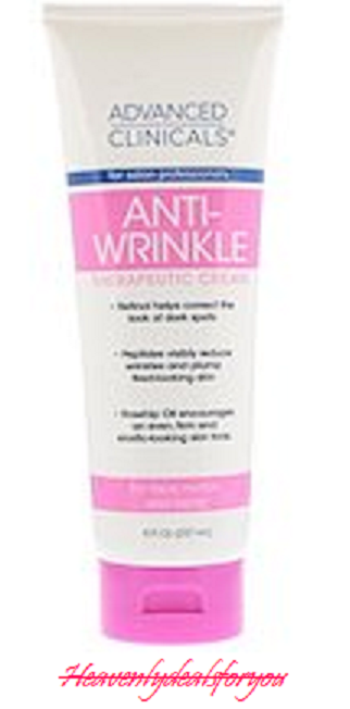 Advanced Clinicals Anti-Wrinkle Cream with Retinol for Face,