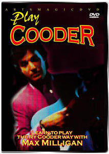 ArtsMagic PLAY Ry COODER Slide GUITAR Instructional DVD with Max Milligan NEW
