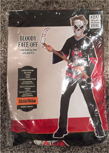 Bloody face off costume Size M