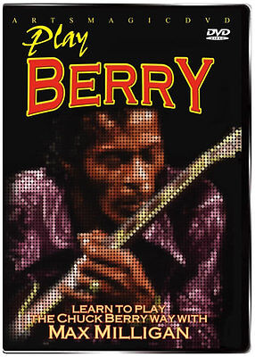 ArtsMagic PLAY CHUCK BERRY Blues Guitar Instruction Video DVD with Max Milligan on Rummage