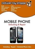 PROFESSIONAL CELLULAR PHONE REPAIRS & UNLOCKING 120 DAY WARRANTY