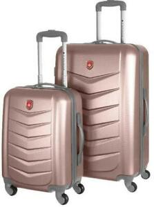 Canada 2 Piece Hardshell Spinner Luggage Set By Canada