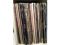 60 VARIOUS ROCK AND POP LP'S