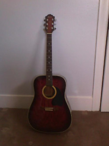 BC Rich acoustic guitar