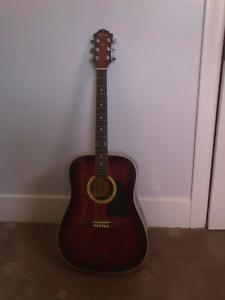 BC Rich acoustic guitar