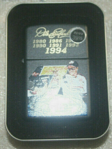 New in the Box Dale Earnhart 7 Time Champion Zippo Lighter 24246