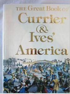 Currier & Ives, Great Book of America, Fathers Day Gift