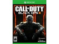 Call of duty: Black ops 3 for Xbox one (Like new)