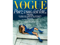 VOGUE Paris June-July 2017 Magazine Gisele Bündchen, France juin-juillet Old Issue 978