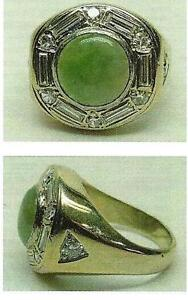 MAN'S JADE RING - OPEN TO OFFERS!