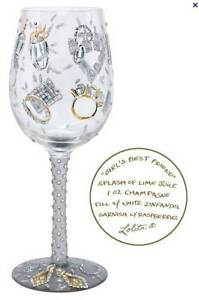 Lolita Girls Best Friend Wine Glass / Glasses