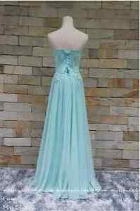 Tiffany blue full evening dress for ladies Kitchener / Waterloo Kitchener Area image 6