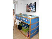 IKEA Kura bunk bed - project
