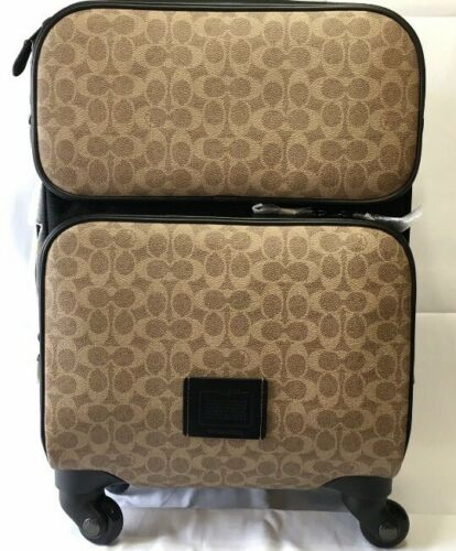Coach Travel Wheeled Luggage Carry On In Signature 69368 Last One - $399.00