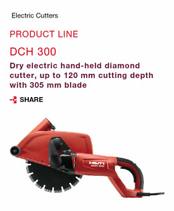 HILTI diamond cutter - $400