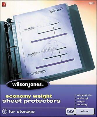 Wilson Jones Top-loading Sheet Protectors Wlj21421