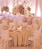 Weddings and Special Events Decor Rentals