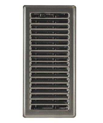 Imperial RG3300 Satin Nickel Contemporary Floor Register, 4
